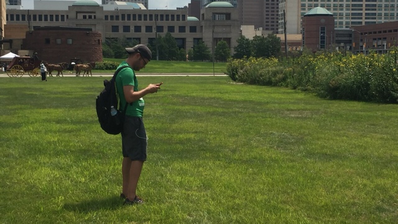 PHOTOS: Pokemon Go meetup at White River Park