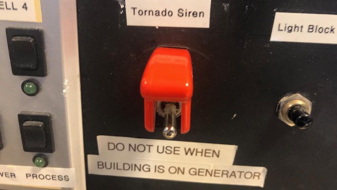 Tornado warning systems