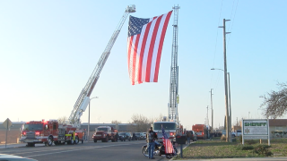 Porterville Fire Procession