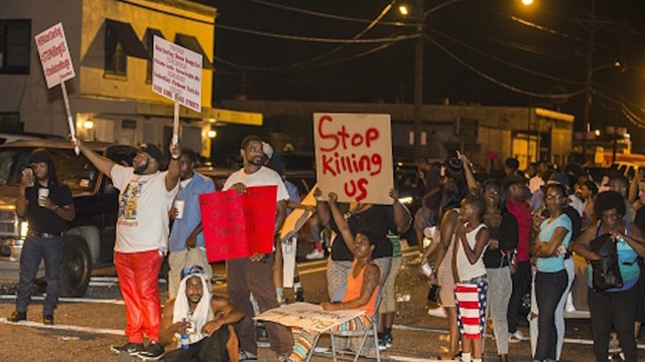 3 shot near site of Alton Sterling shooting, report says