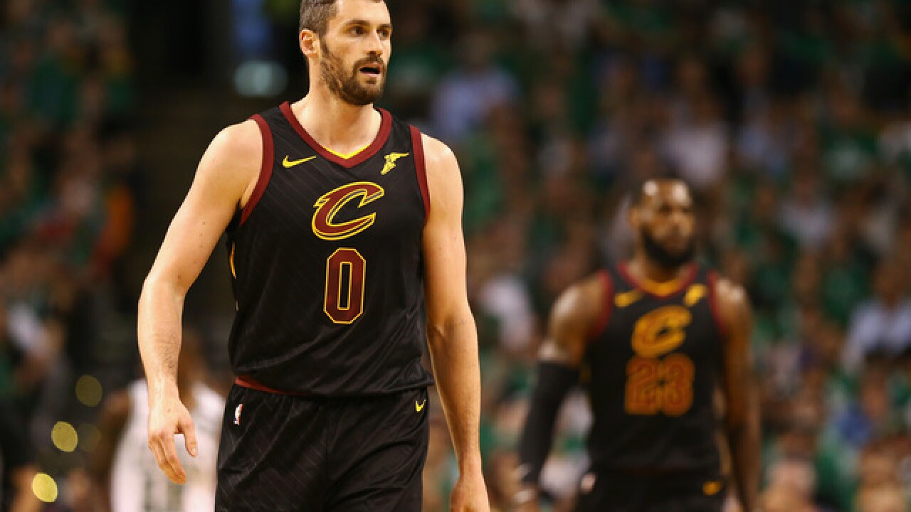 Kevin Love cleared to play in Game 1 of NBA Finals