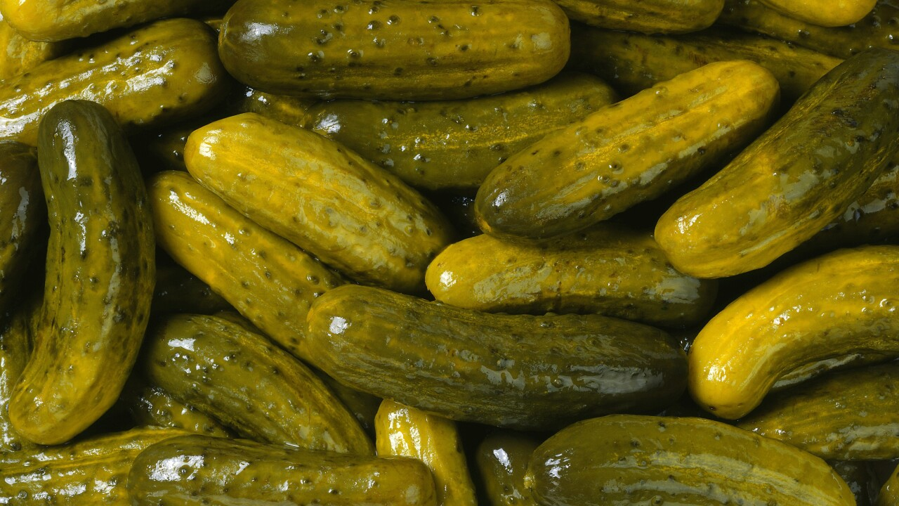 """Pickle juice"" slush debuts at Sonicrestaurants"