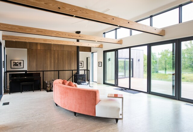 HOME TOUR PHOTOS: 20-acre modern prairie home in Zionsville