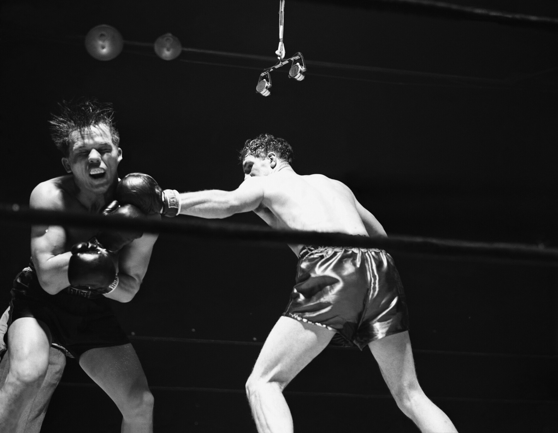 Zale and Conn Boxing 1942