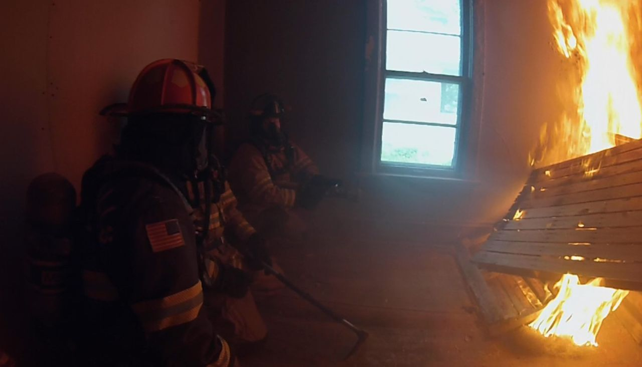 """New recruits undergo literal """"trial by fire"""" in Great Falls"""