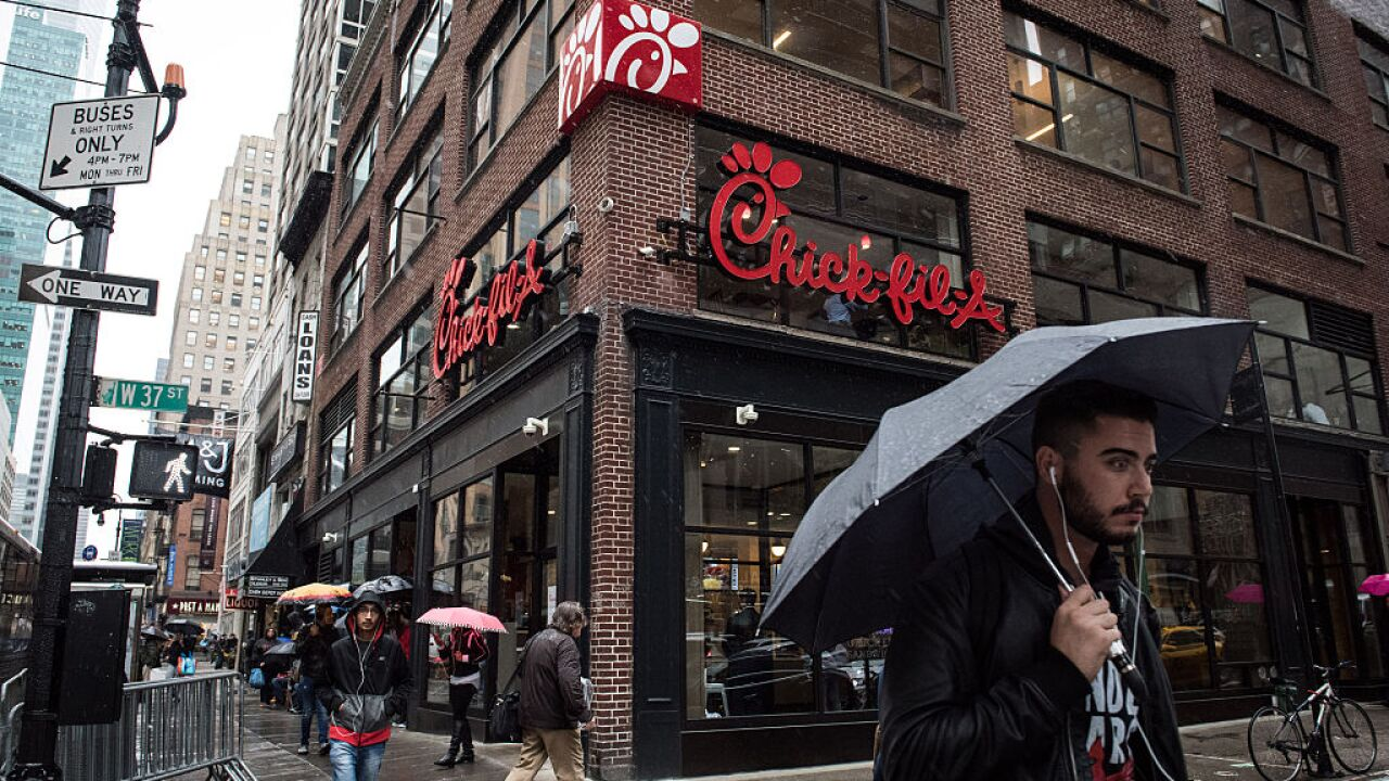 'Daddy-Daughter Date Night' at Chick-fil-A is a real thing and your reservation is waiting
