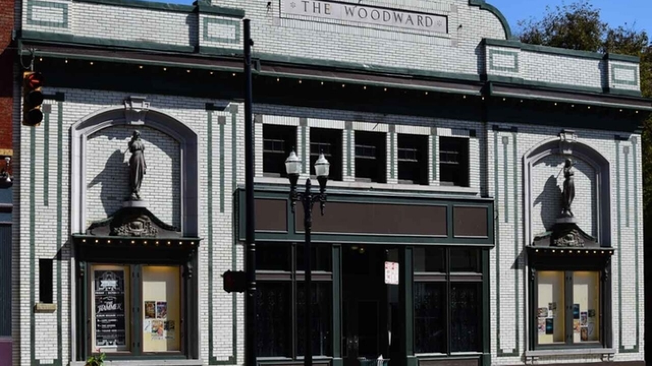 Woodward Theater wins $150,000 grant to restore marquee