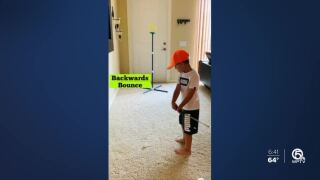 5-year-old Florida golfer perfects trick shots during stay-at-home order
