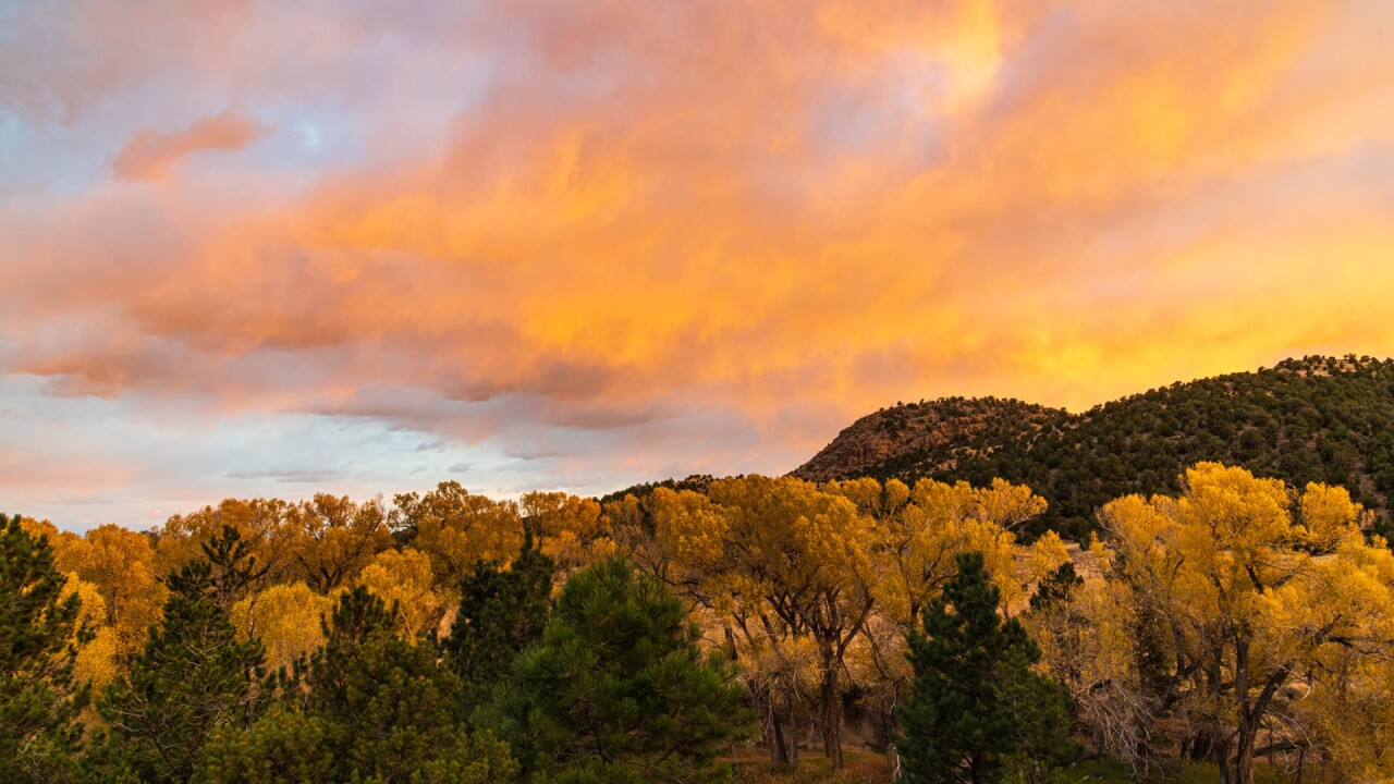 Westcliffe sunrise