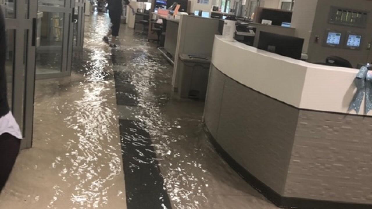 Banner University Medical Center Phoenix flooding