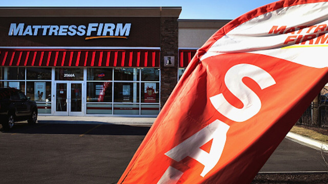 Mattress Firm files for bankruptcy, says it will close up to 700 stores