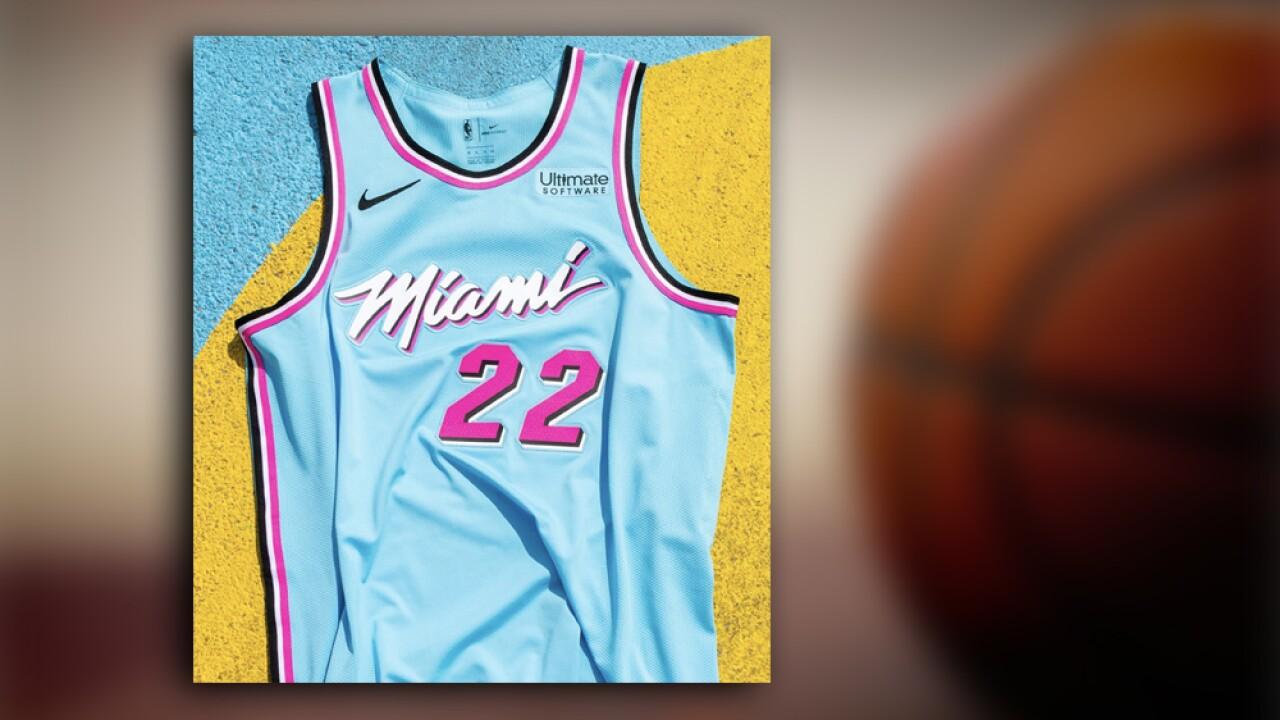 Miami Heat Unveils New Vicewave Uniforms