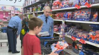 Local children to 'shop with a hero' in Lansing