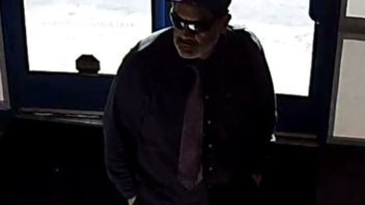 Police search for suspect in string of robberies
