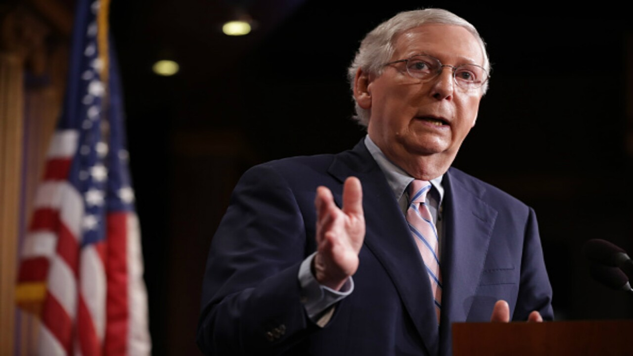 Mitch McConnell fractures shoulder after falling in Kentucky home