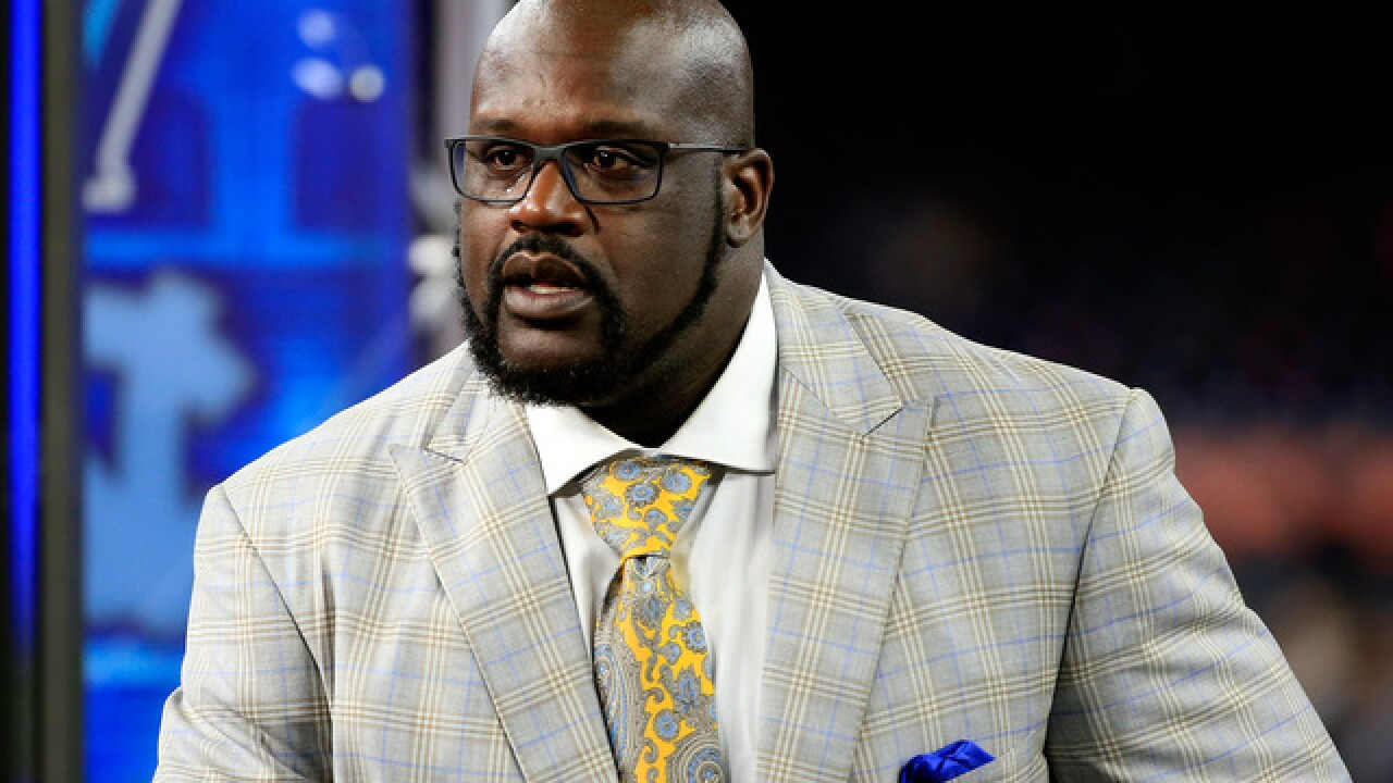 Shaq filming reality show for new Las Vegas restaurant