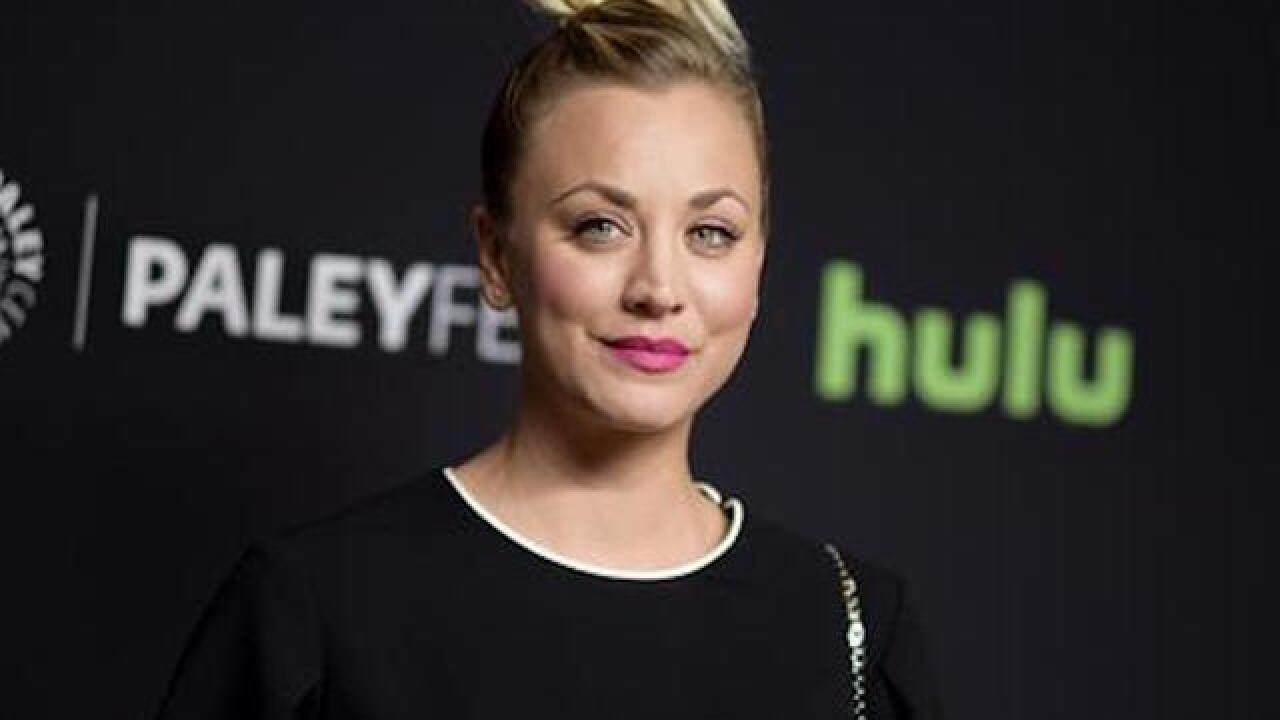 Kaley Cuoco sorry for photo of dogs sitting on US flag