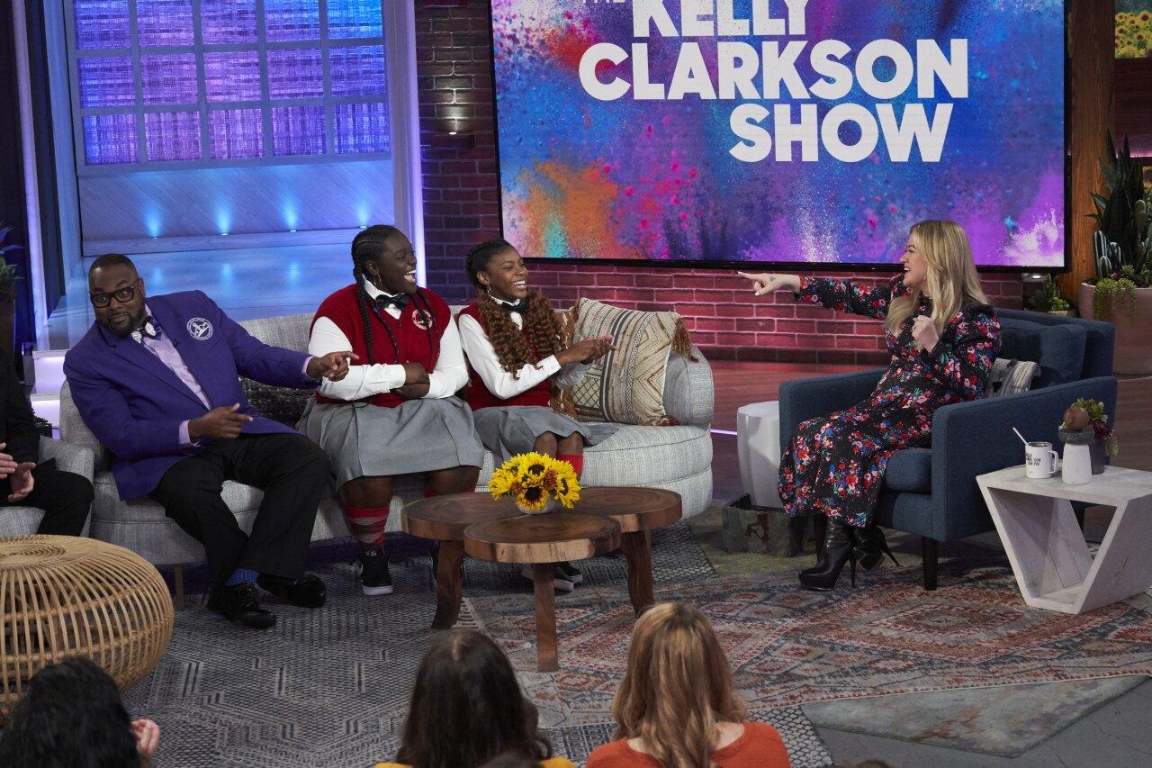 DYC on The Kelly Clarkson Show  3