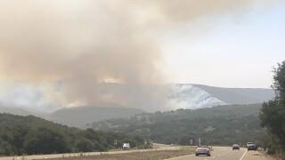 Fire breaks out along Hwy 1 near Vandenberg AFB