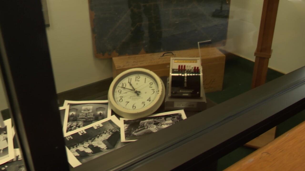 Columbus Center unveils display celebrating its history