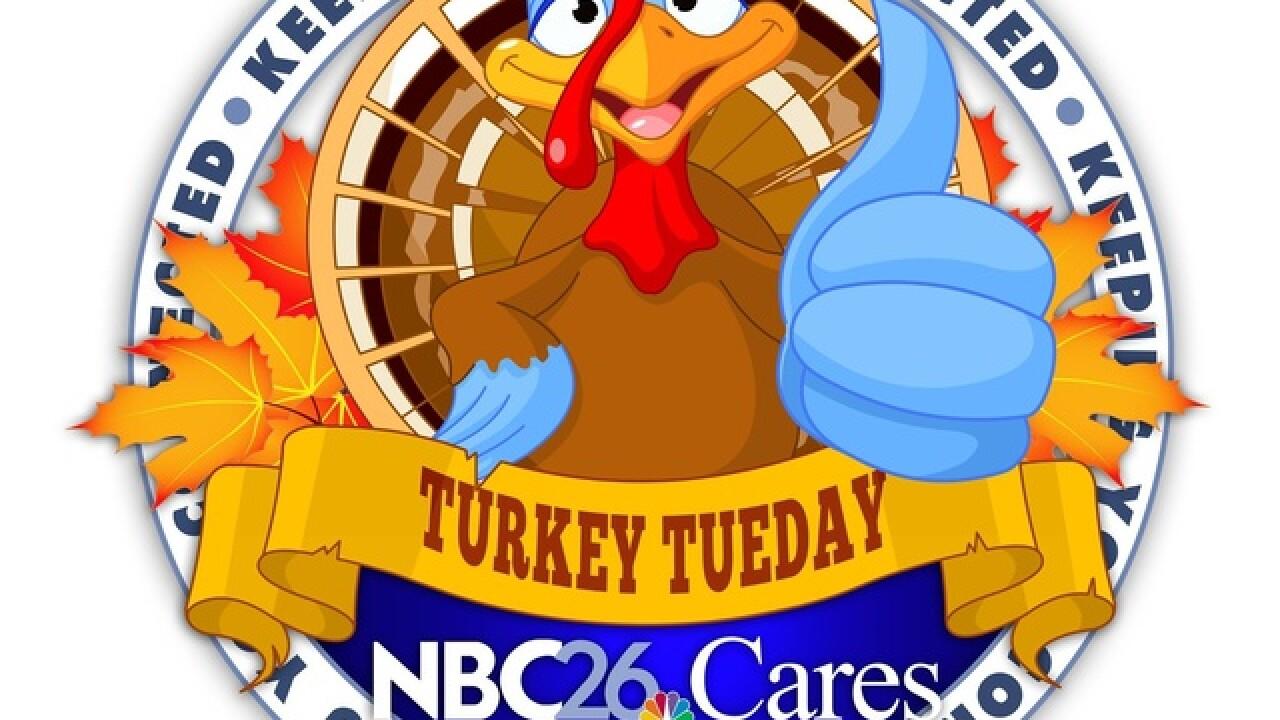 3rd Annual Turkey Tuesday Drive