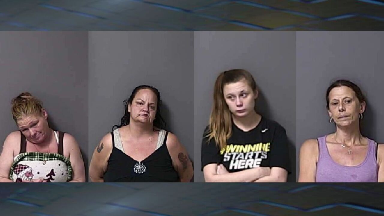 Police: Five arrested for selling drugs out of motel