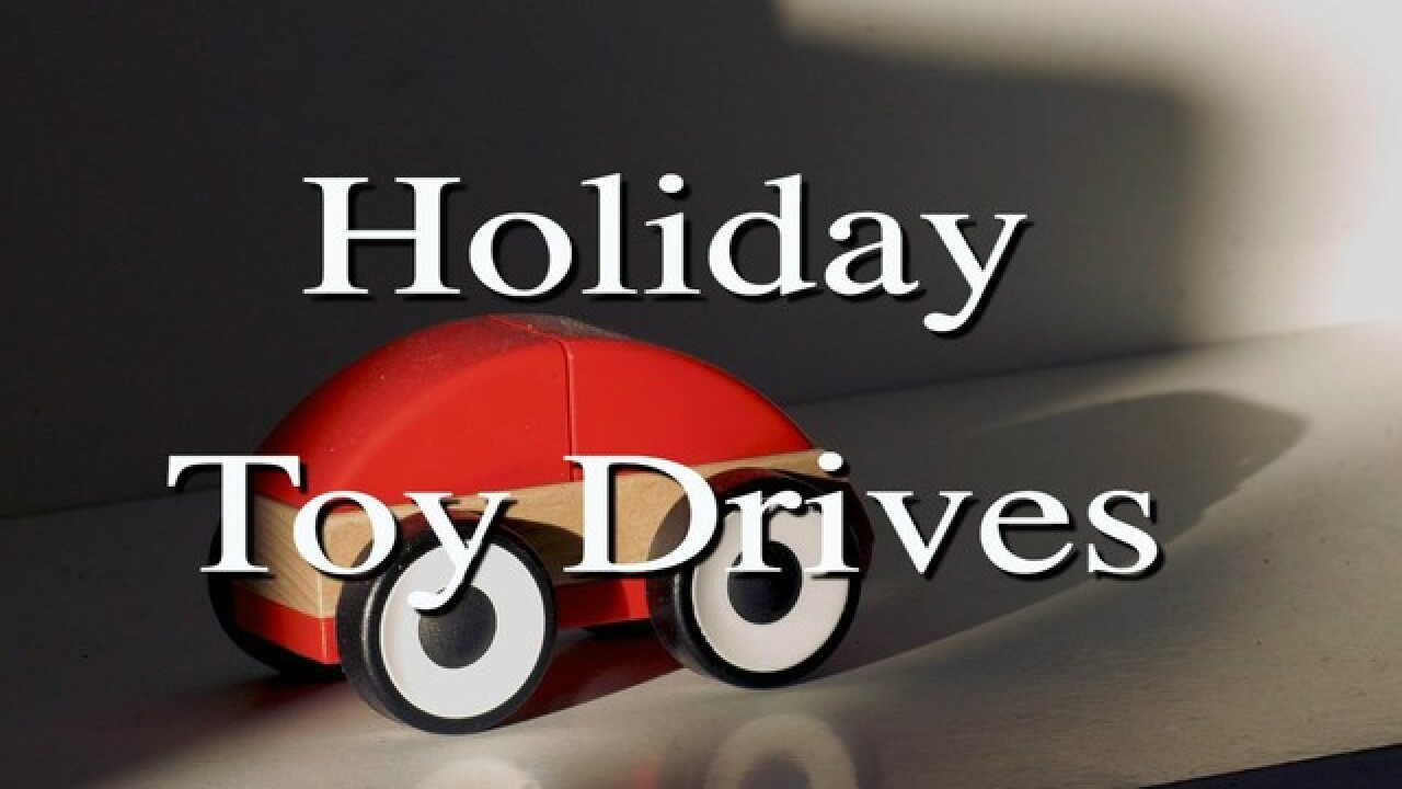 2018 Holiday Toy Drives in Las Vegas valley