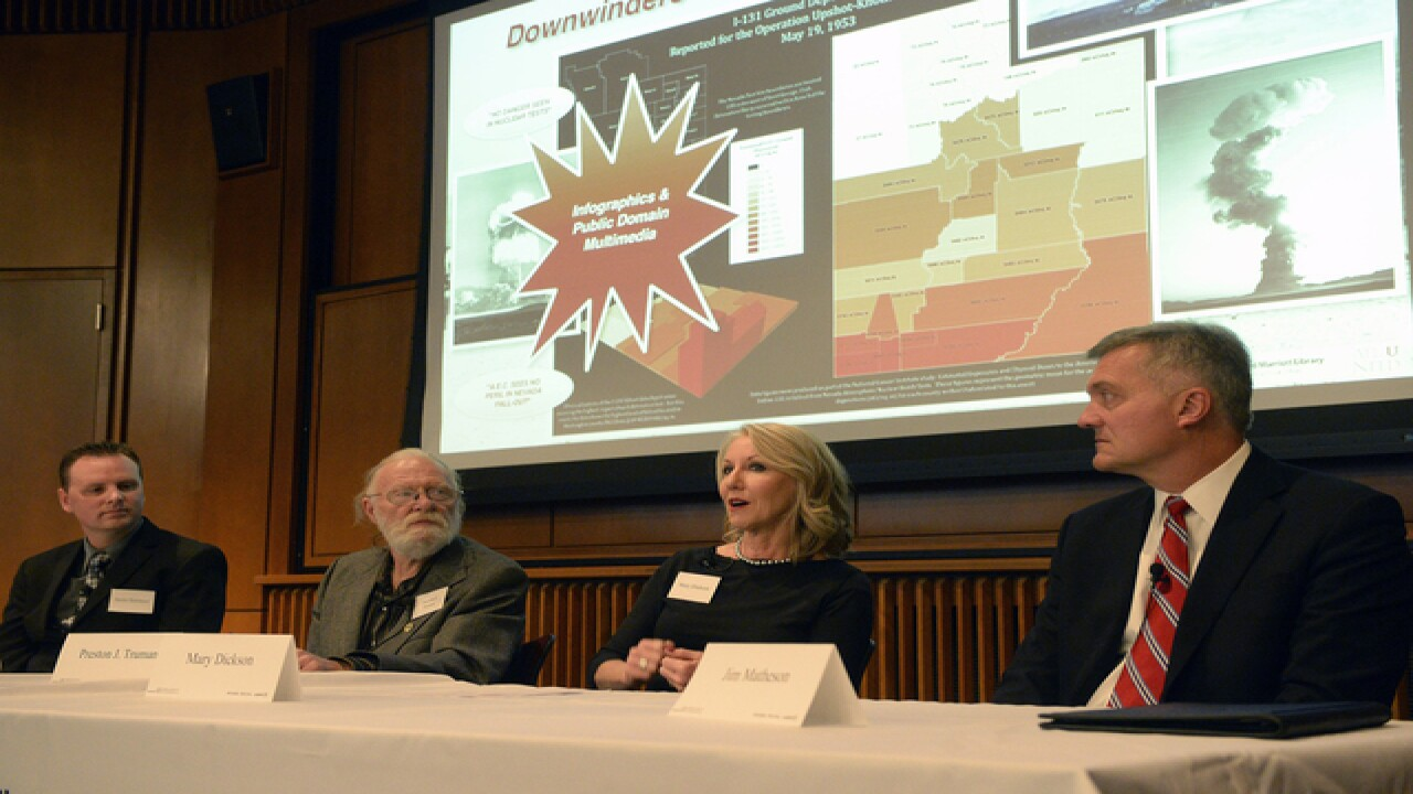 Utah exhibit shows nuclear testing's downwind effects