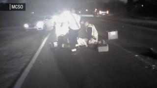 MCSO Deputy Armando Gomez struck in Queen Creek