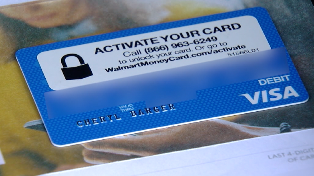 Woman warning others of money card arriving in mail that could be
