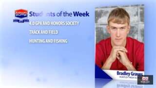 Students of the Week: Bradley Graves and Kyle Schaff of Huntley Project High School