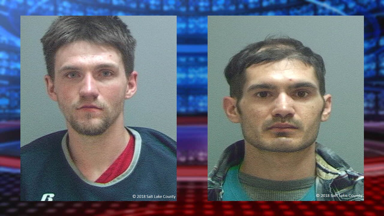 Two arrested Monday with 'mountain of stolen property' from suspected vehicle burglaries in Cottonwood Heights