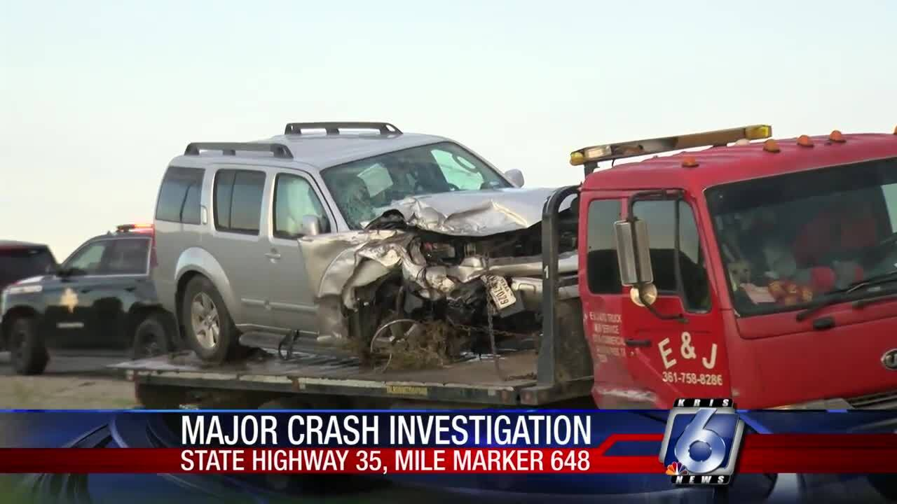Eleven injured in Sunday wreck in Aransas County