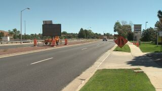 Construction on Briargate Blvd to begin Monday