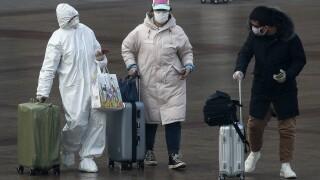 APTOPIX China Outbreak