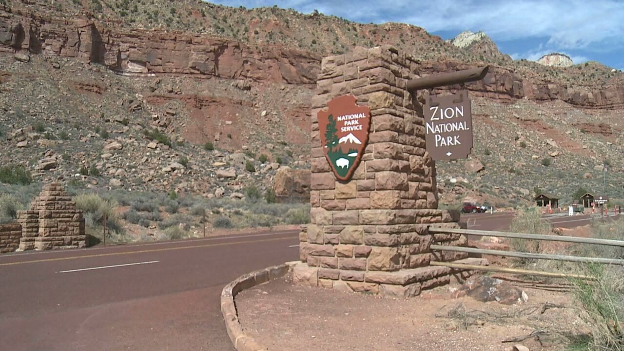 Several roads through Zion National Park to close tonight