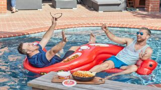 Here's How You Could Win A Pool Float Made For Snacking