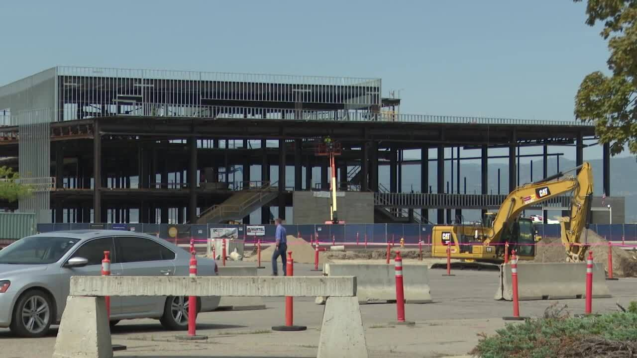 missoula airport construction