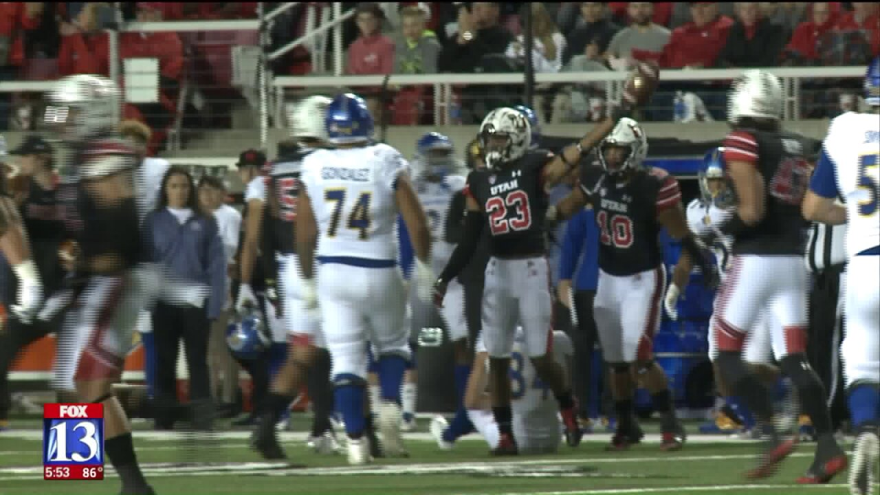 Utah's Julian Blackmon thriving in switch from corner tosafety