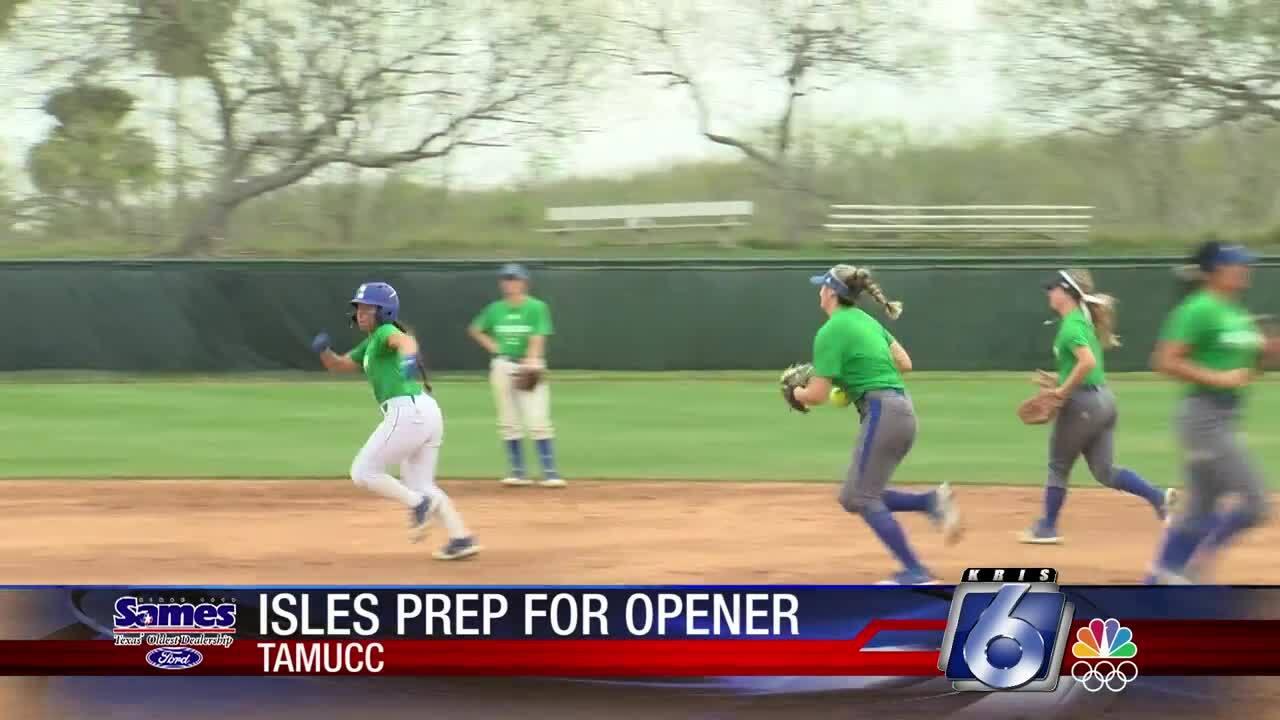 Texas A&M-Corpus Christi Islanders softball