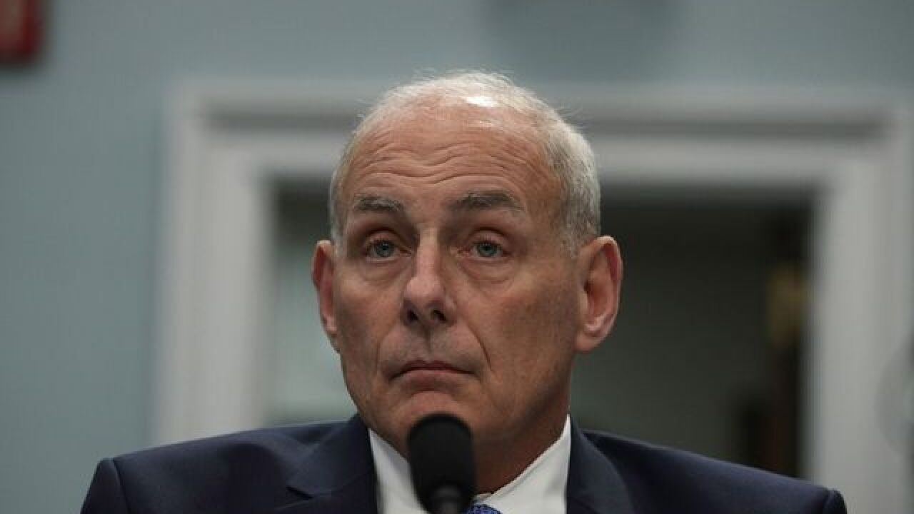 Dreamers who didn't sign up for DACA were 'too lazy,' chief of staff John Kelly suggests