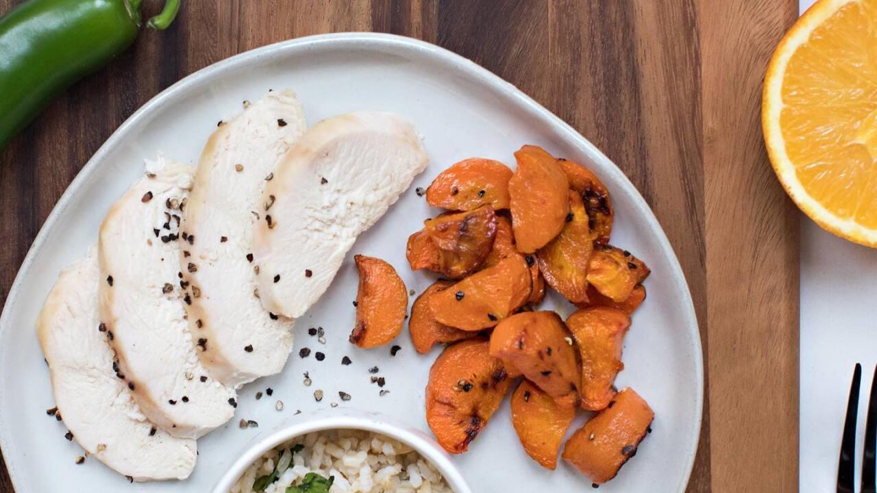 Dinner to Doorbells orange jalapeno chicken.jpg