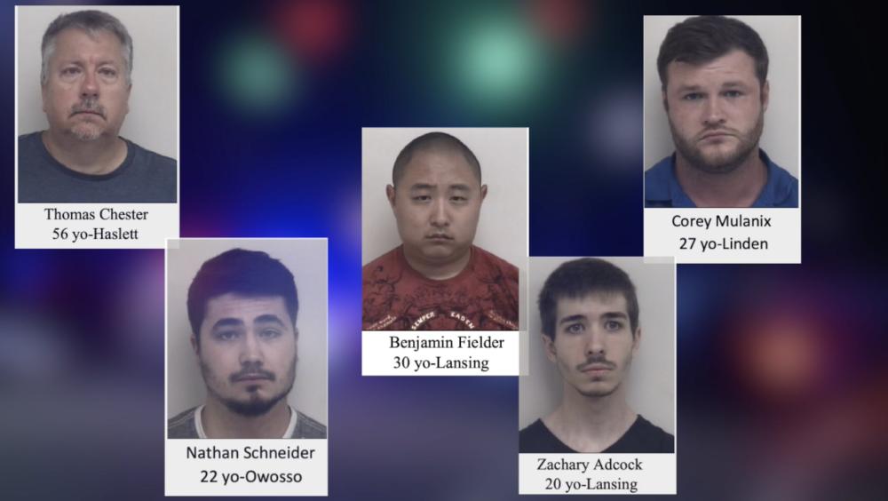 Sex Sting operation arrests