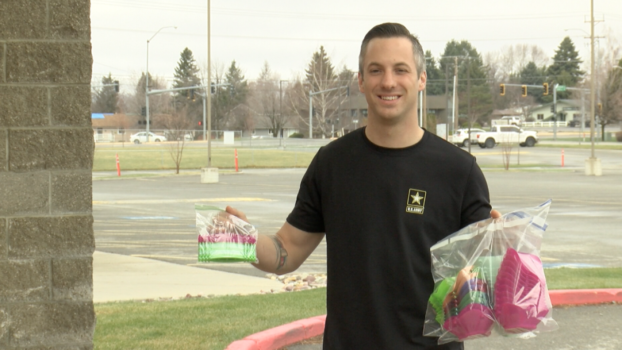 Kalispell Army Sergeant makes N95 masks for healthcare workers