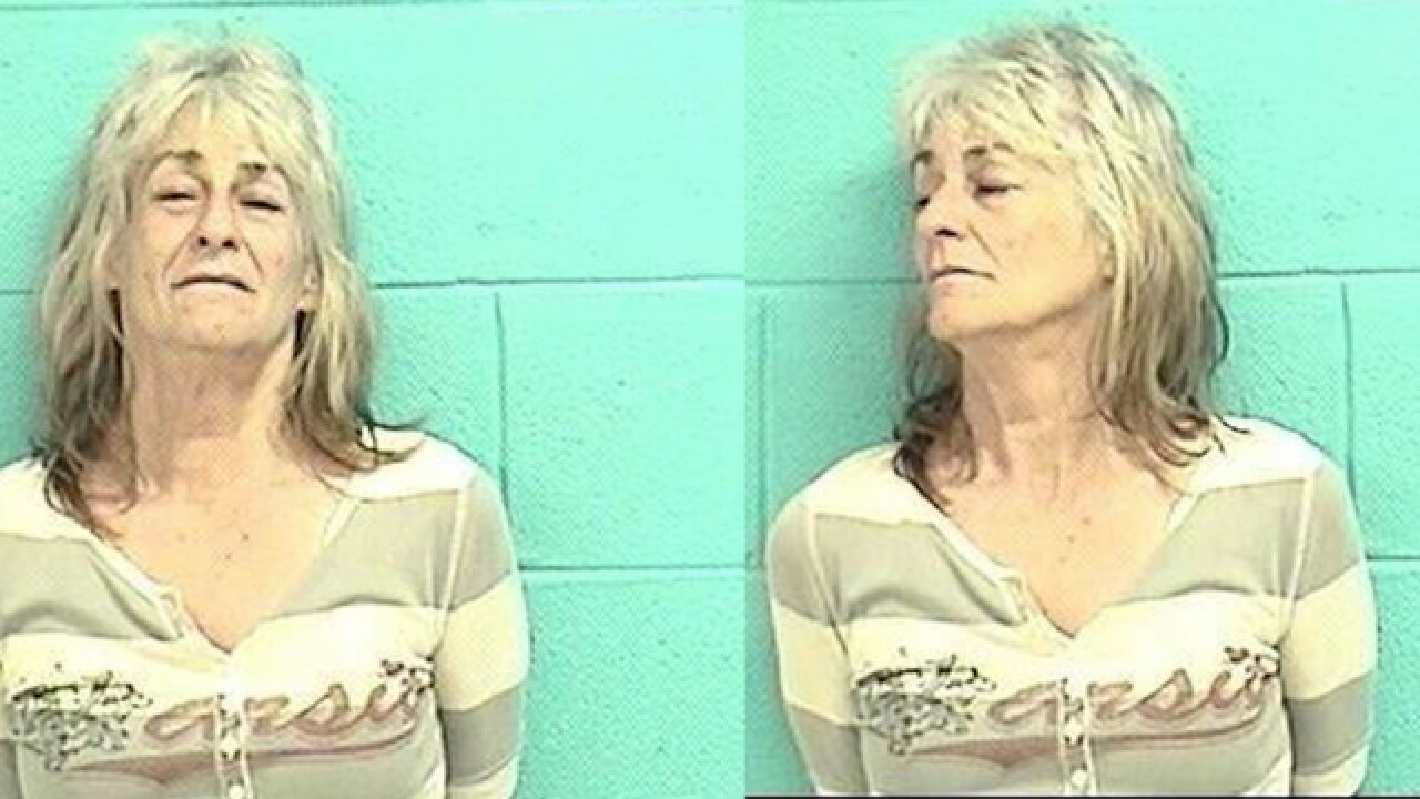 Grandma overdoses with infant in back seat