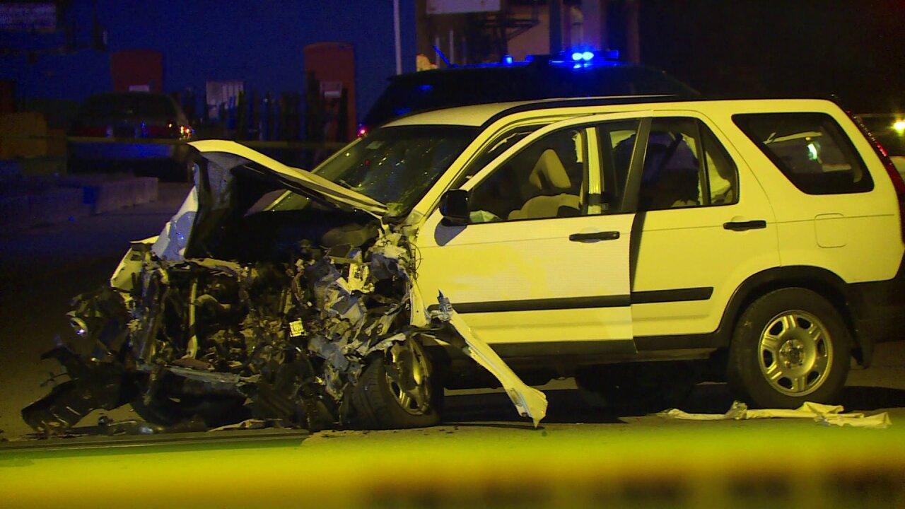 Passenger suffers life-threatening injuries when stolen car crashed inRichmond