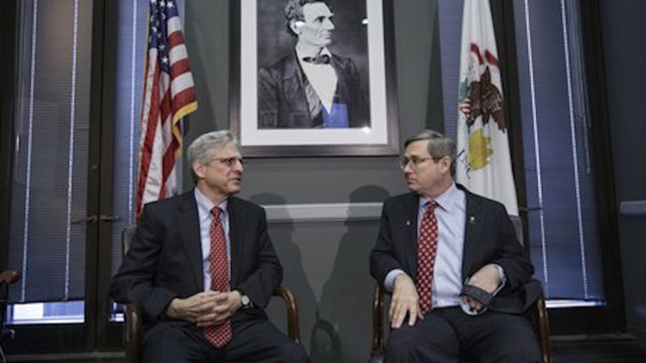 Garland holds first meeting with GOP senator