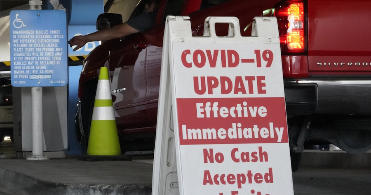 Stay-at-home order issued in Los Angeles as coronavirus cases surge