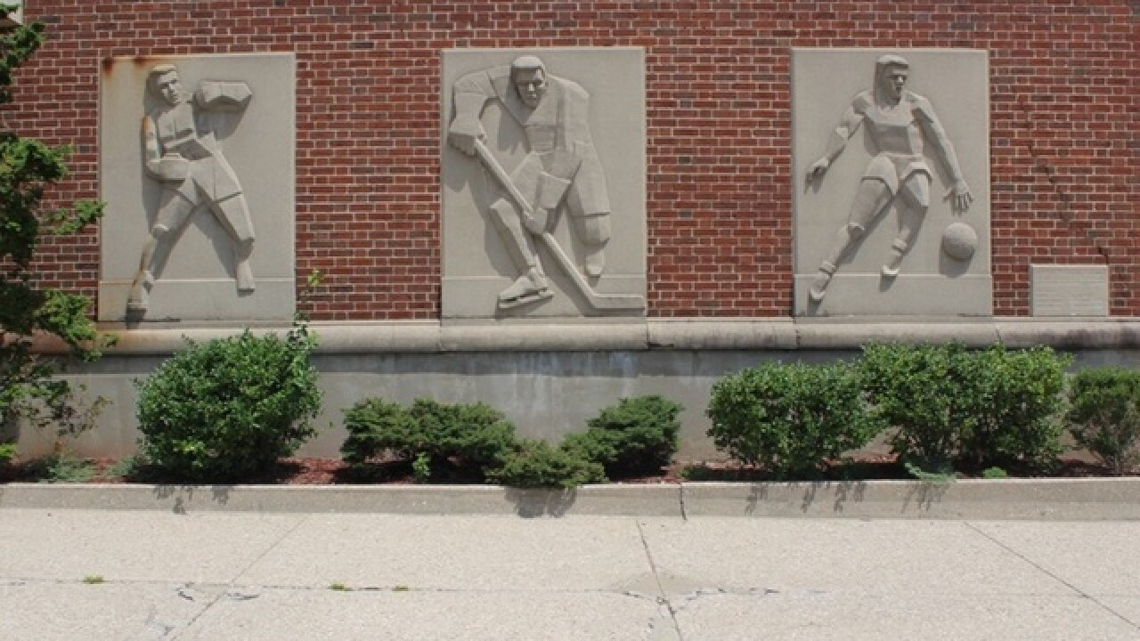 Here's the plan on how the six Cincinnati Gardens sports sculptures will be preserved