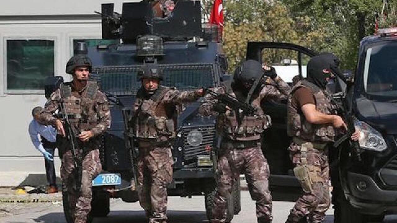 Attacker wounded near Israeli Embassy